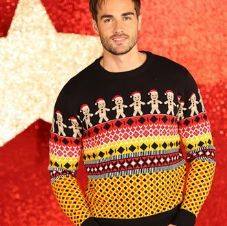 GINGERBREAD MAN KNITTED JUMPER
